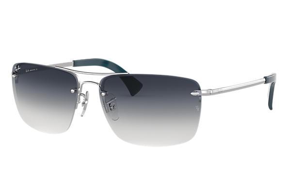 3684b5f301d Ray-Ban RB3607 Silver - Metal - Grey Lenses - 0RB3607003 8G61