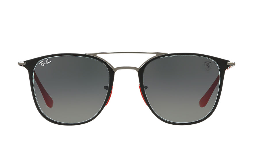 Ray-Ban SCUDERIA FERRARI JAPAN LIMITED EDITION Gunmetal with Grey Gradient lens