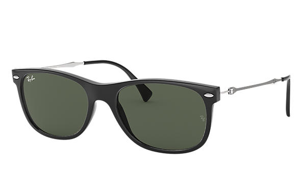 Ray-Ban 0RB4318-RB4318 Black; Silver SUN
