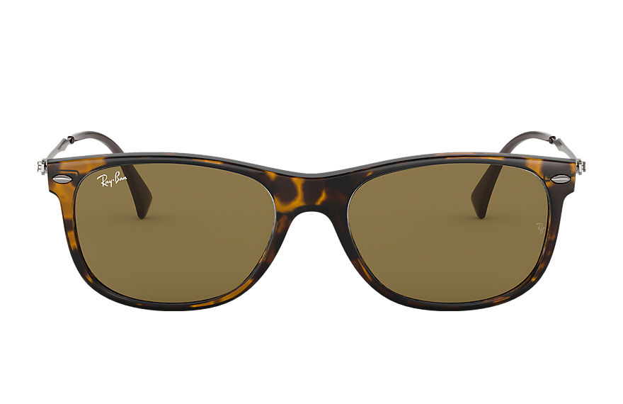 Ray-Ban Sunglasses RB4318 Tortoise with Brown Classic B-15 lens