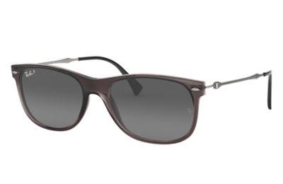 Comprar Ray-Ban Gafas-de-sol RB4318 Gris con lente Gris Degradada