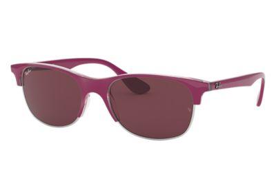 Comprar Ray-Ban Gafas-de-sol RB4319 Rosa con lente Violeta oscuro Clásica