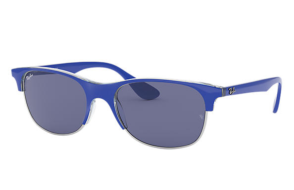 Ray-Ban 0RB4319-RB4319 Light Blue,Transparent SUN