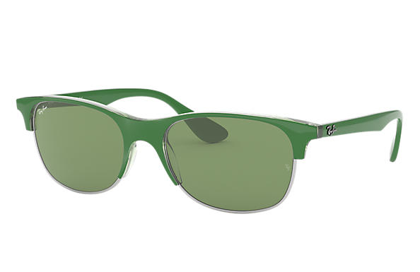 Ray-Ban 0RB4319-RB4319 Green,Transparent SUN