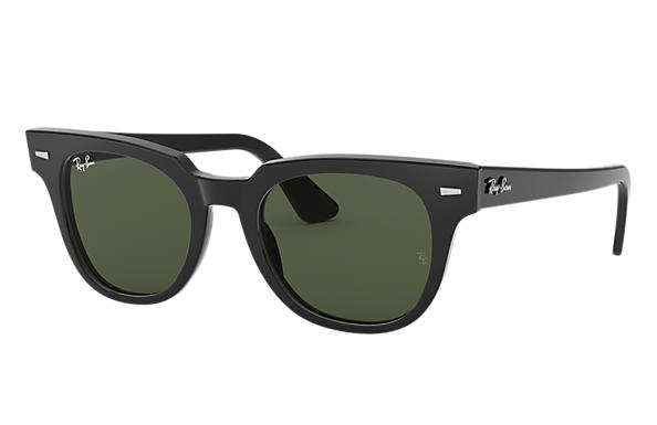 dab23ea4f4 Ray-Ban Meteor Classic RB2168 Black - Acetate - Green Lenses ...