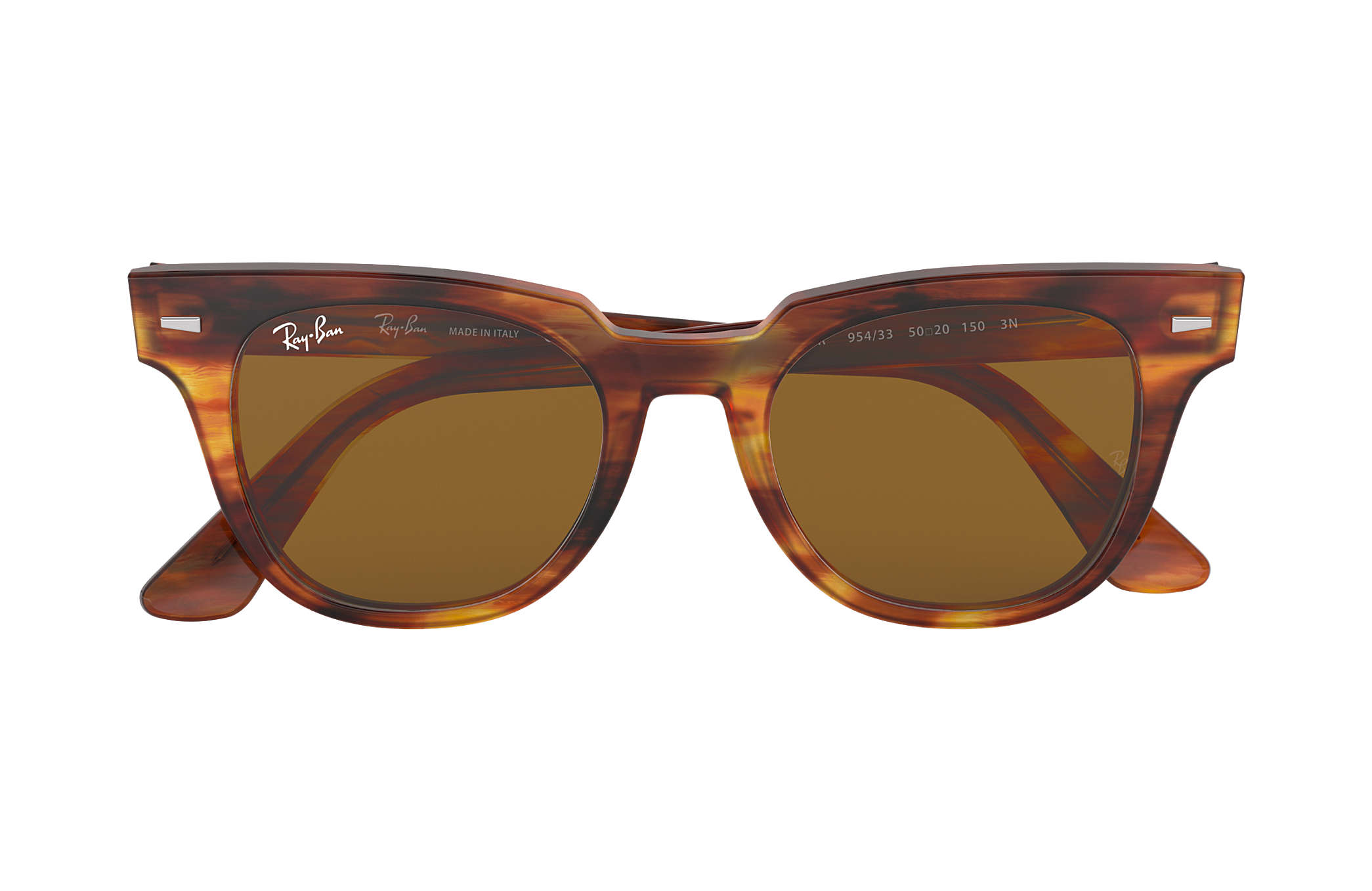 f74078f6222 Ray-Ban Meteor Classic RB2168 Striped Havana - Acetate - Brown ...