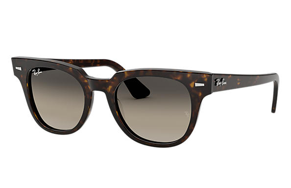 Ray-Ban Sunglasses METEOR CLASSIC Tortoise with Light Grey Gradient lens