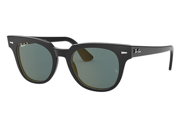 Ray-Ban Sunglasses METEOR CLASSIC Black with Grey Classic lens