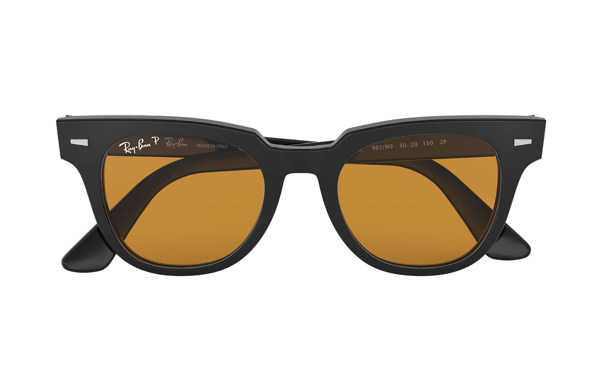 a62985d1988 Ray-Ban Meteor Classic RB2168 Black - Acetate - Yellow Polarized ...
