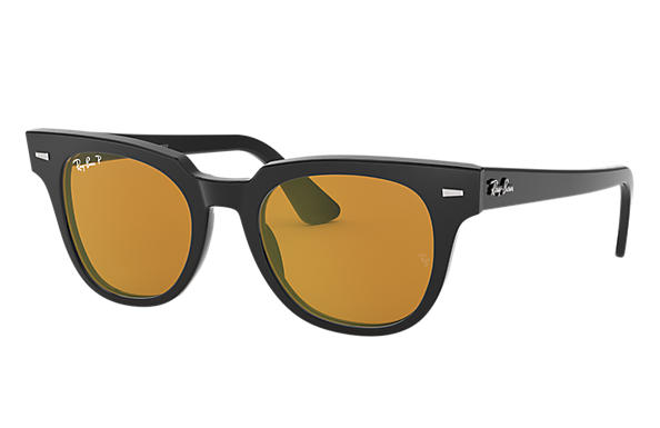 Ray-Ban Sunglasses METEOR CLASSIC Black with Yellow Classic lens