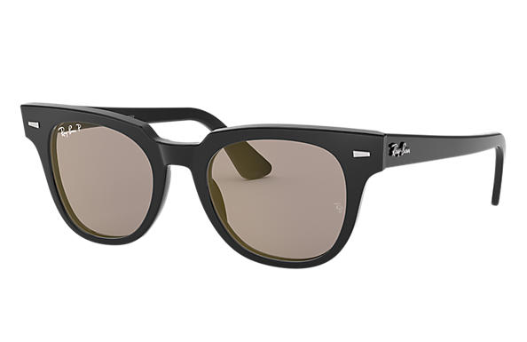 b39a0f1bf7 Ray-Ban Meteor Classic RB2168 Black - Acetate - Grey Polarized ...