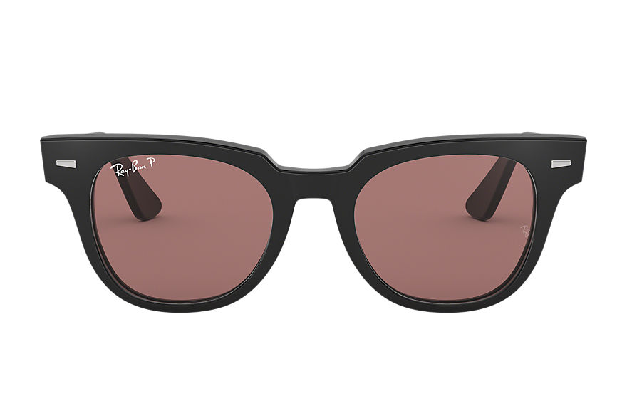 Ray-Ban Sunglasses METEOR CLASSIC Black with Purple Classic lens