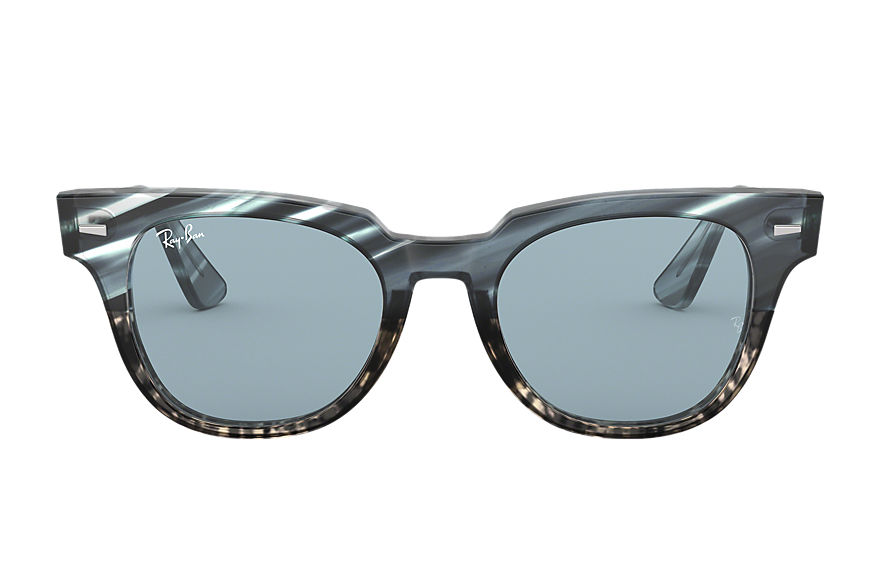 Ray-Ban  lunettes de soleil RB2168 UNISEX 018 meteor striped havana striped blue gradient grey 8053672994735