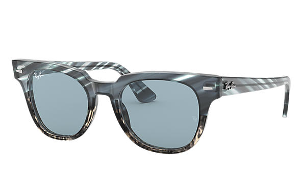 Ray-Ban 0RB2168-METEOR STRIPED HAVANA Striped Blue Gradient Grey,Niebieski; Niebieski SUN