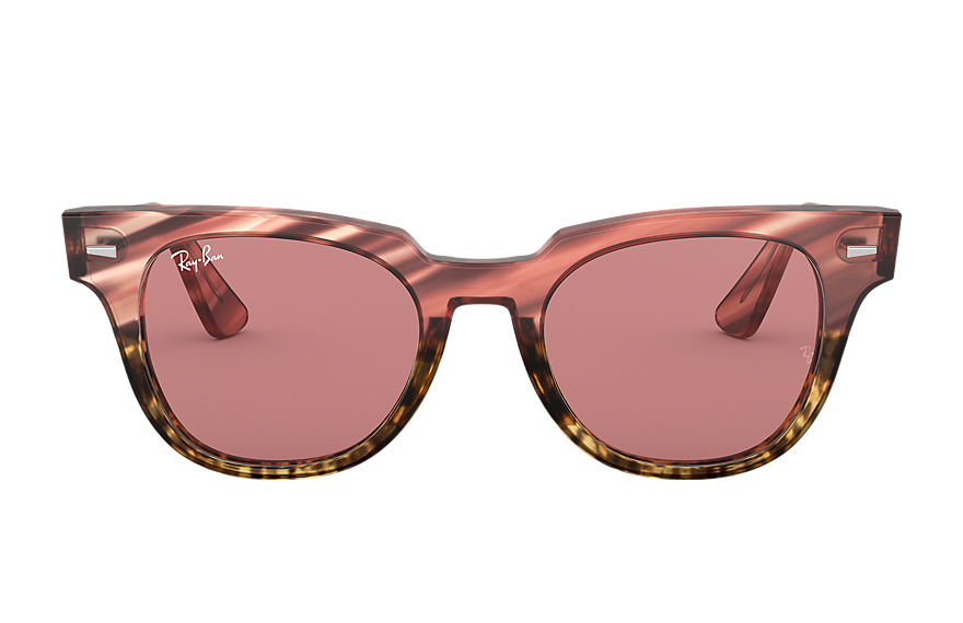 Ray-Ban  lunettes de soleil RB2168 UNISEX 012 meteor striped havana striped pink gradient beige 8053672994742