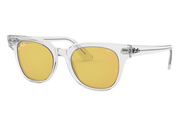 8216cdf9787 Ray-Ban Meteor Evolve RB2168 Transparent - Acetate - Yellow Lenses ...