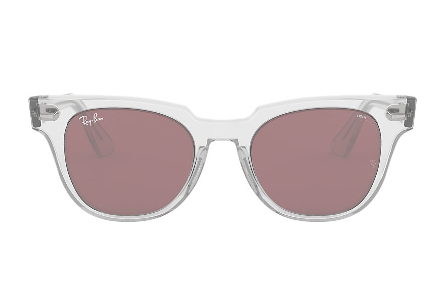 Ray-Ban  sunglasses RB2168 UNISEX 002 meteor washed evolve transparent 8053672994803