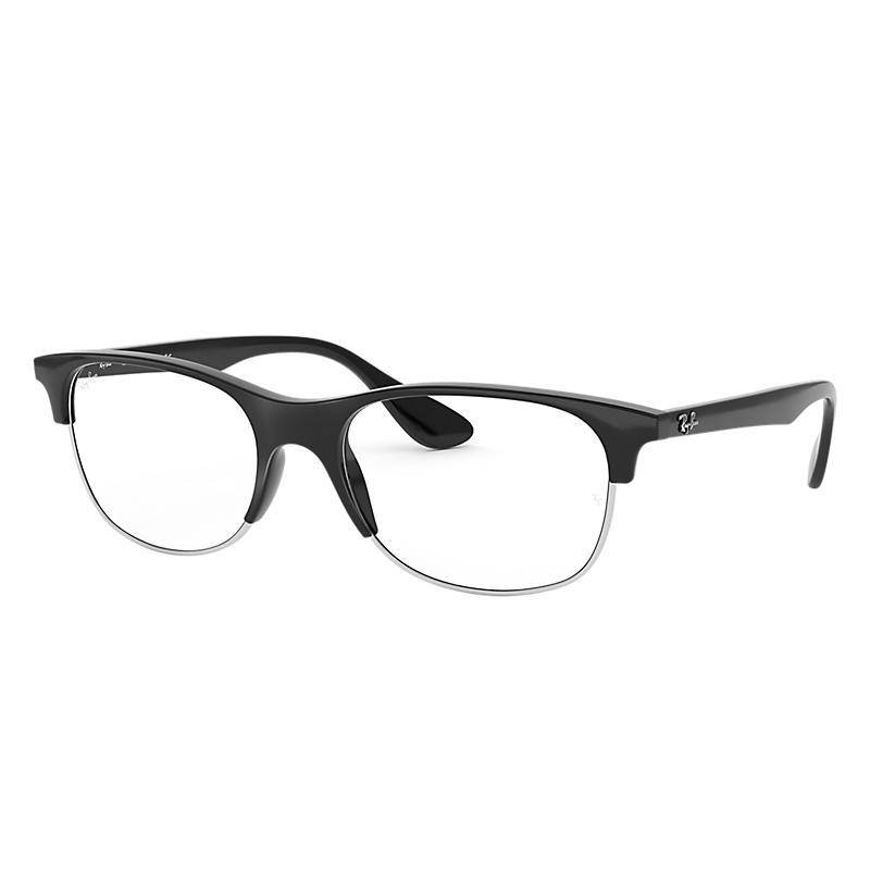 Image of Ray-Ban Black Eyeglasses - Rb4319v