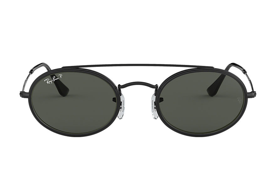 Ray-Ban  sunglasses RB3847N UNISEX 006 oval double bridge black 8053672998504