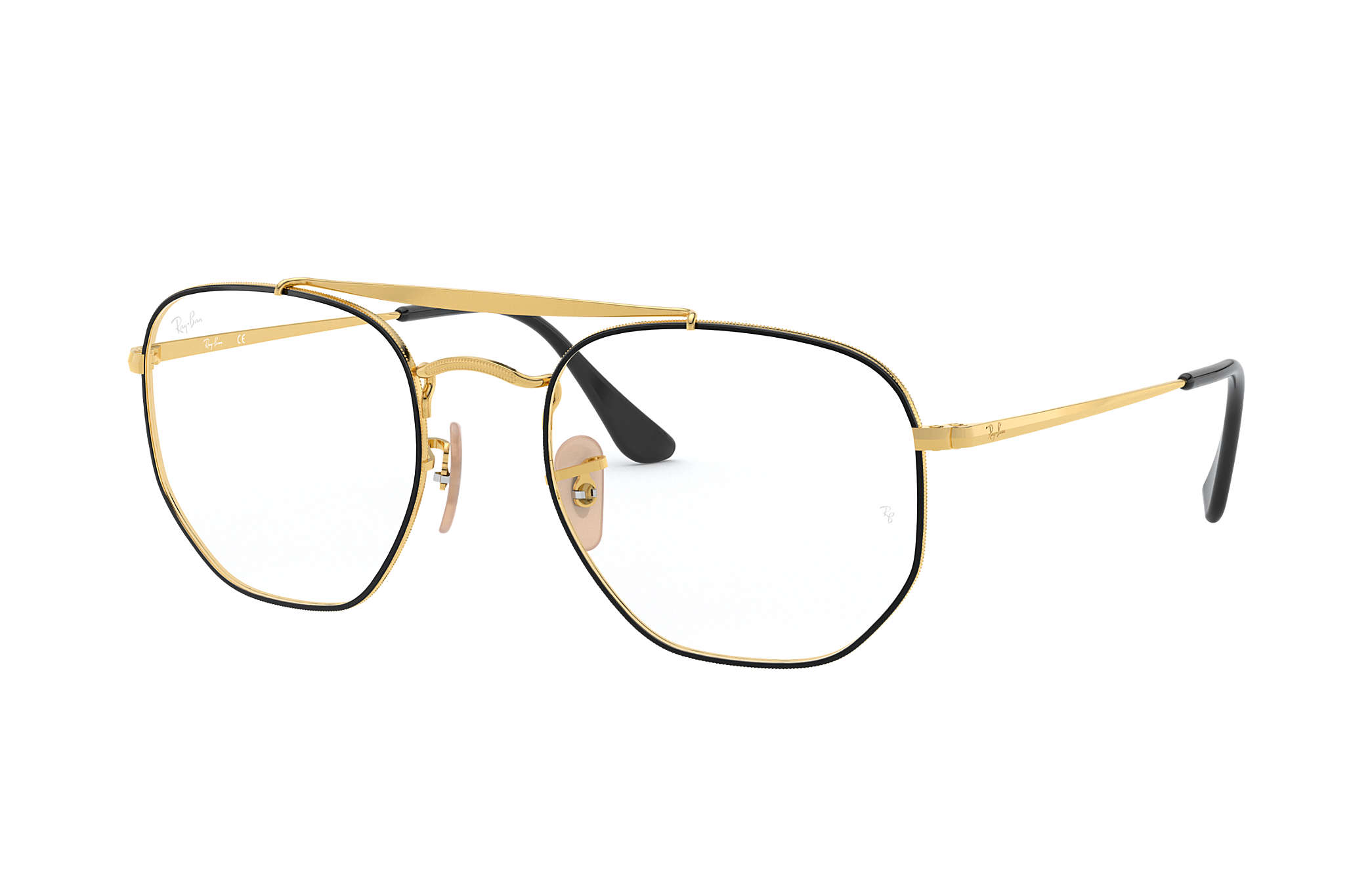 983098e69e4 Ray-Ban prescription glasses Marshal Optics RB3648V Black - Metal ...