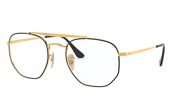 Ray-Ban 0RX3648V-MARSHAL OPTICS Black,Gold; Gold OPTICAL