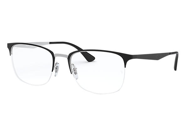 Ray-Ban 0RX6433-RB6433 Noir,Argent OPTICAL