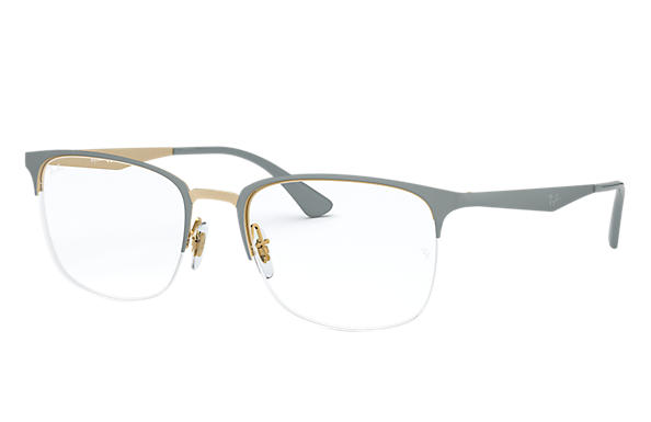 Ray-Ban 0RX6433-RB6433 Gris,Oro OPTICAL