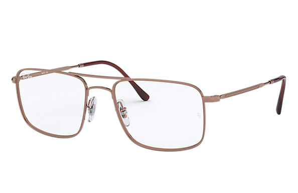Ray-Ban 0RX6434-RB6434 Bronze-Copper OPTICAL