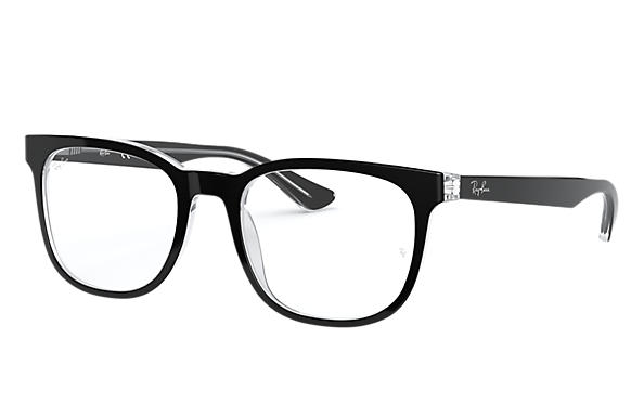 Ray-Ban 0RX5369-RB5369 Black,Transparent OPTICAL