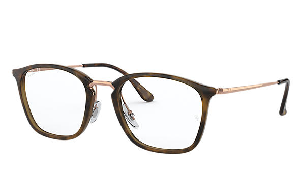 Ray-Ban 0RX7164-RB7164 Habana; Bronce-Cobre OPTICAL