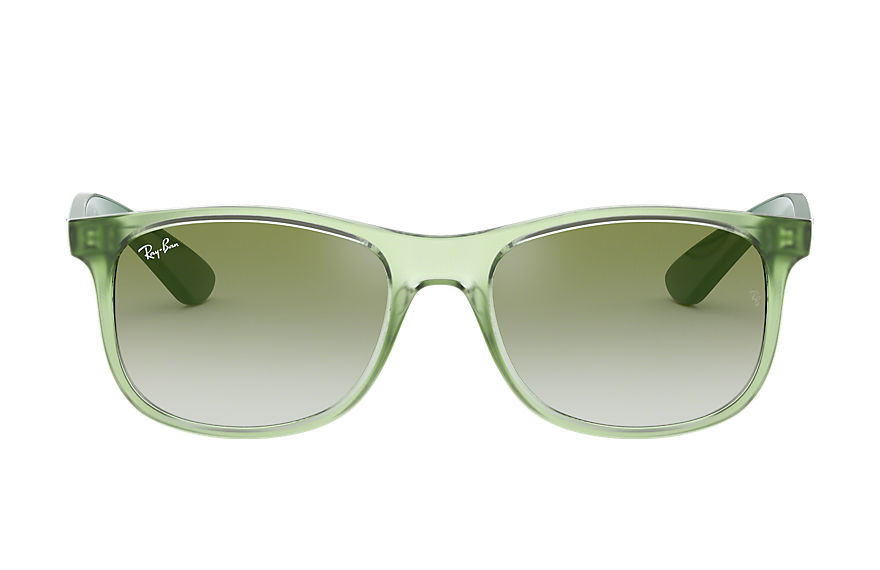 Ray-Ban RJ9062S Green with Green/Red Gradient Mirror lens
