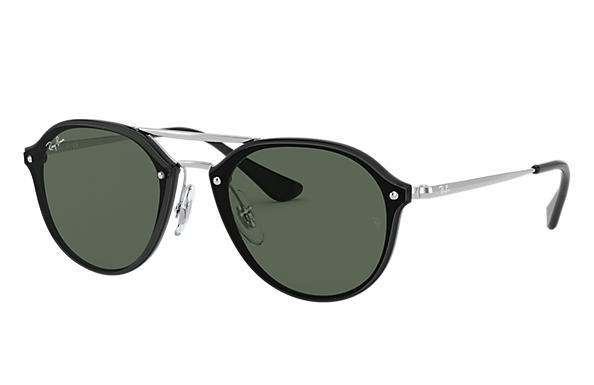 Ray-Ban 0RJ9067SN-JUNIOR DOUBLE BRIDGE Black; Silver SUN