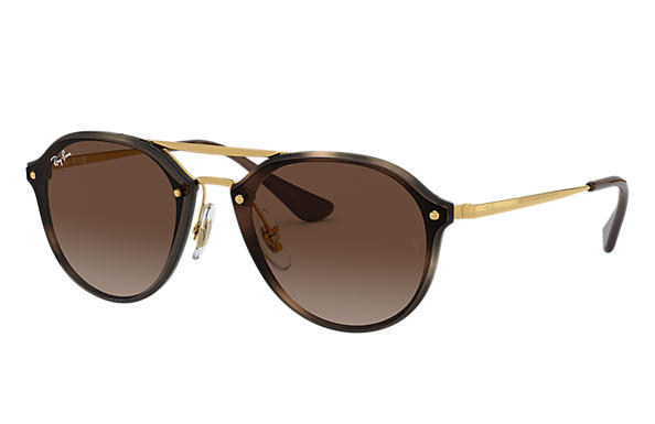 Ray-Ban 0RJ9067SN-JUNIOR DOUBLE BRIDGE Tartaruga; Oro SUN