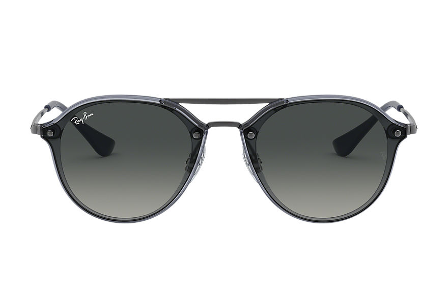 Ray-Ban  sunglasses RJ9067SN MALE 002 junior double bridge blue 8056597013352