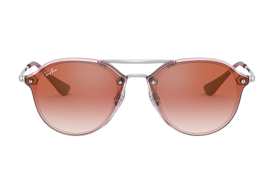 Ray-Ban  sunglasses RJ9067SN MALE 005 junior double bridge pink 8056597013376