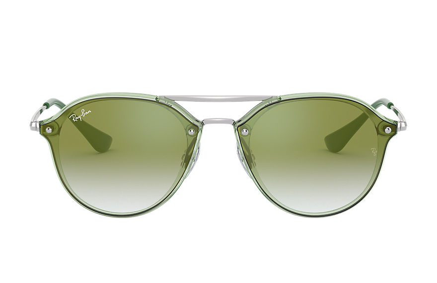 Ray-Ban  sunglasses RJ9067SN MALE 006 junior double bridge green 8056597013383