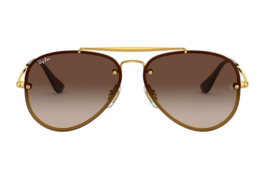 Ray-Ban  sunglasses RJ9548SN MALE 003 blaze aviator junior gold 8056597013406