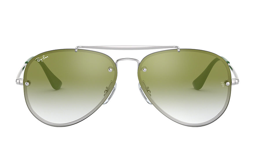 Ray-Ban  sunglasses RJ9548SN MALE 002 blaze aviator junior silver 8056597013444