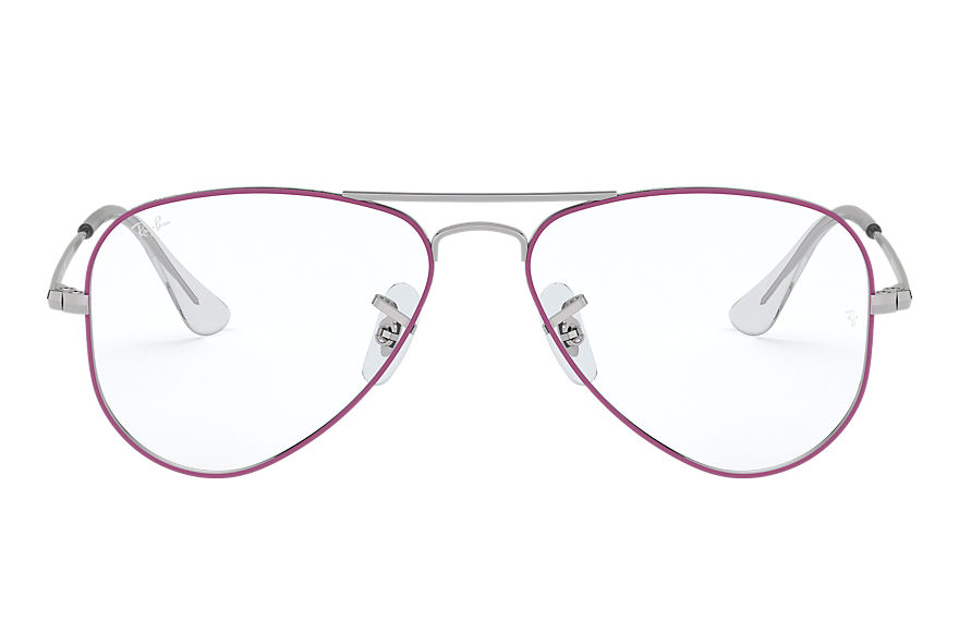 Ray-Ban  eyeglasses RY1089 CHILD 005 aviator junior optics violet 8056597014038