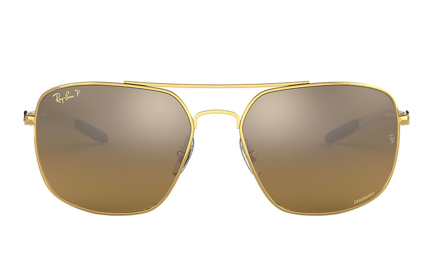 Ray-Ban  oculos de sol RB8322CH MALE 001 rb8322ch chromance ouro 8056597017480