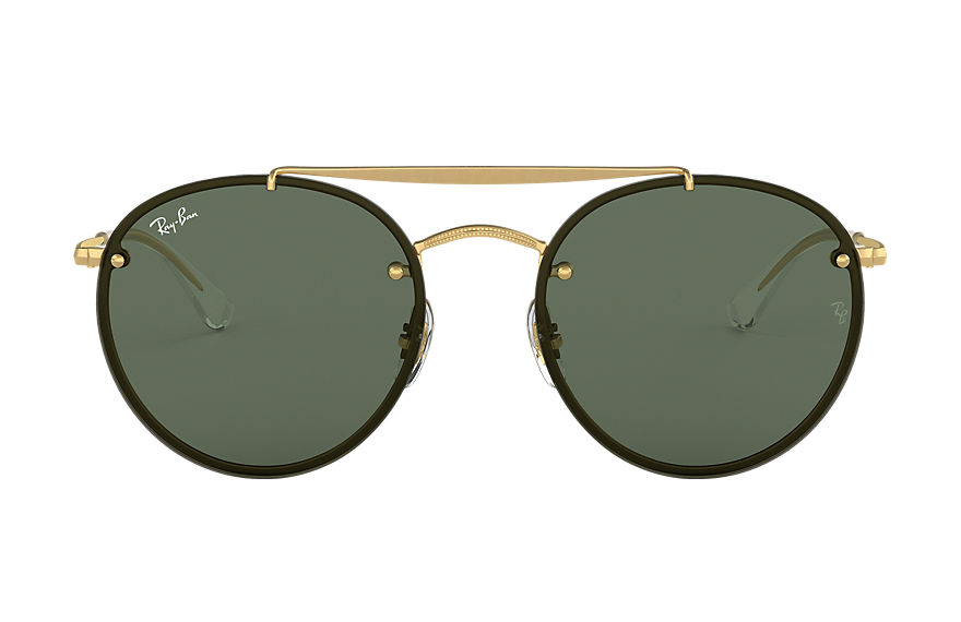 Ray-Ban  sonnenbrillen RB3614N UNISEX 001 blaze round double bridge gold 8056597017855