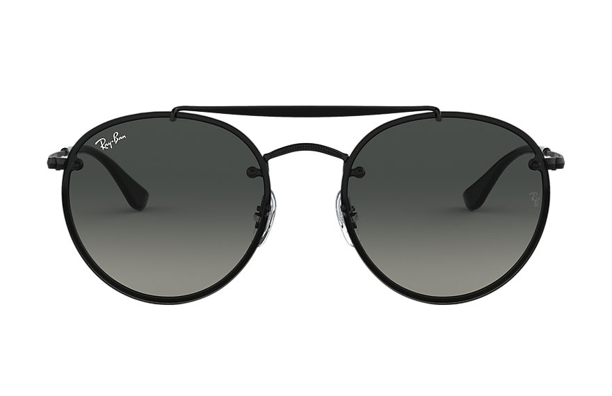 Ray-Ban  sonnenbrillen RB3614N MALE 003 blaze round double bridge schwarz 8056597017862