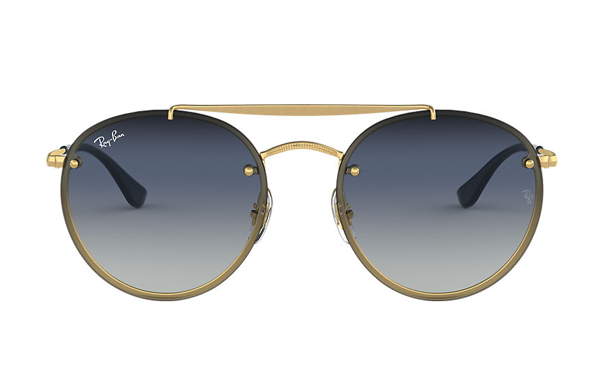 Ray-Ban  sonnenbrillen RB3614N UNISEX 003 blaze round double bridge gold 8056597017886
