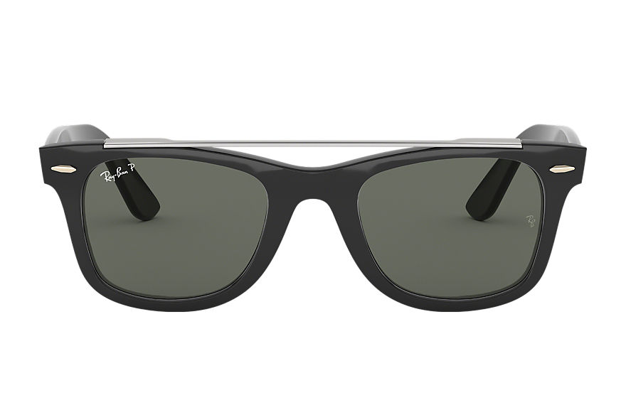 Ray-Ban  sunglasses RB4540 MALE 002 wayfarer double bridge black 8056597018074