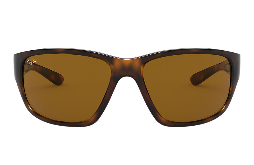 Ray-Ban  occhiali da sole RB4300 MALE 002 rb4300 tartaruga 8056597018784