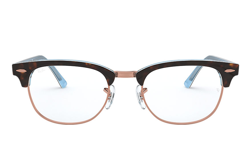 Ray-Ban  eyeglasses RX5154 MALE 008 clubmaster optics 호피색 8056597026185
