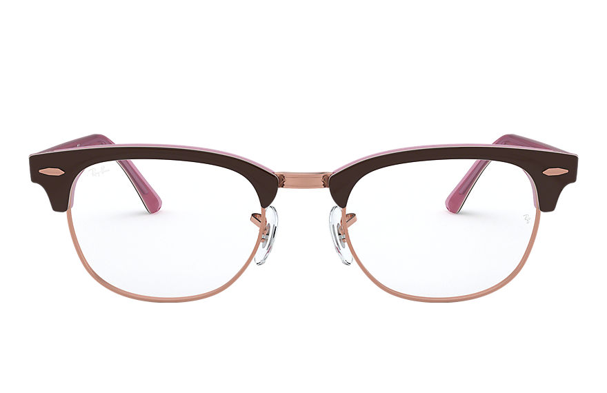Ray-Ban  lunettes de vue RX5154 MALE 006 clubmaster optics brown 8056597026215