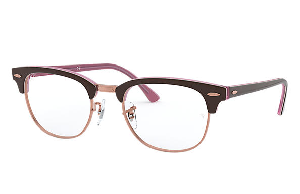 Ray-Ban 0RX5154-CLUBMASTER OPTICS Brown,Pink OPTICAL