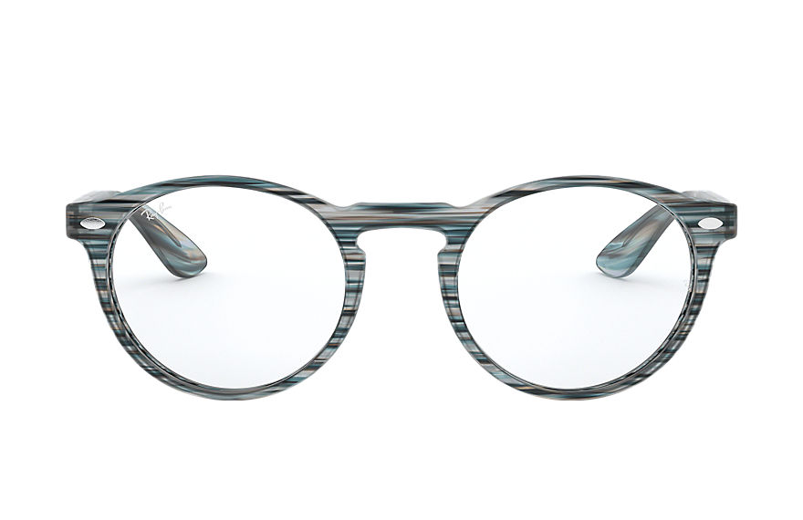 Ray-Ban  eyeglasses RX5283 MALE 005 rb5283 striped blue and grey 8056597026260