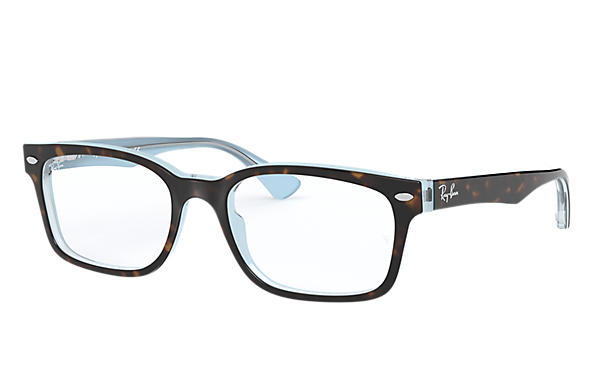 Ray-Ban 0RX5286-RB5286 Havana,Hellblau OPTICAL